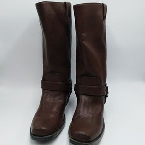 Nicole Fran Brown Boot Size 8